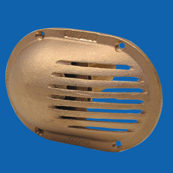 Bronze Hull Strainers Marine Sea Scoop Strainers