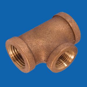 Bronze Pipe Fittings Tees