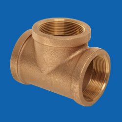 Bronze Pipe Fittings – Tees