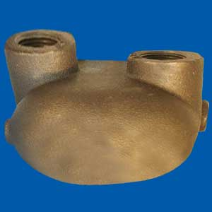 Bronze Shell Molding Parts